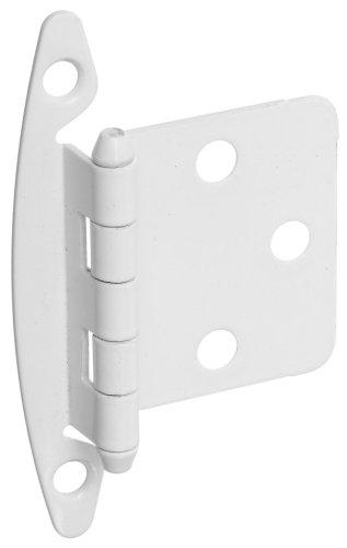 kitchen cabinet hinges white - 7