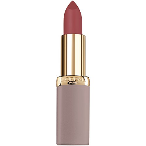 L'Oreal Paris Cosmetics Colour Riche Ultra Matte Highly Pigmented Nude Lipstick, Rebel Rouge, 0.13 Ounce (Rebel Matte)