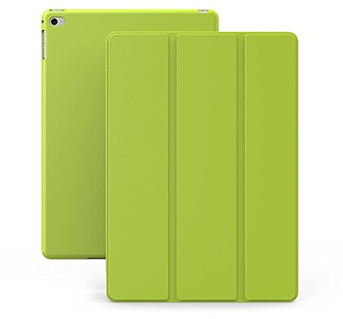 KHOMO iPad Air 2 Case - DUAL Series - ULTRA Slim Cover with Auto Sleep Wake Feature for Apple iPad Air 2nd Generation Tablet, Green (ip-air-2-green-2)