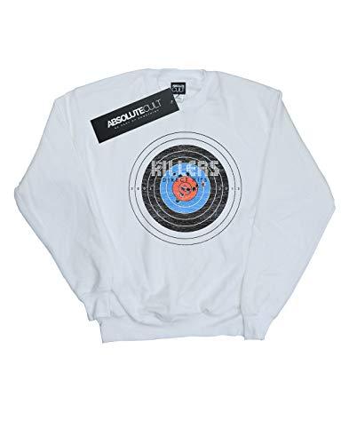 Garçon Sweat Absolute Direct shirt Blanc Distressed Killers Cult The Hits p07PgT40