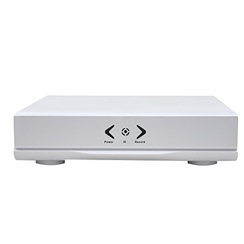 H.264 Dvr Video - 4CH Dvr Recorder Box 5 in 1 XVR 1080N Video Recorder Onvif H.264 P2P Dvr Devices with 1080P HDMI & VAG Output For 1080P AHD TVI CVI IP CVBS Cameras Remote View, NTSC (Without HDD)