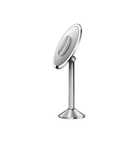 Simplehuman Sensor Mirror Pro 8 Inch Round Lighted Makeup