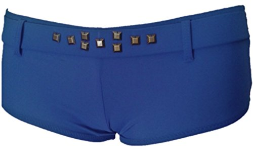 Color Tama para inferior o Shorty Blue 36 Lined ador ba con parte de o Ba mujer Royal 6qRPFwS