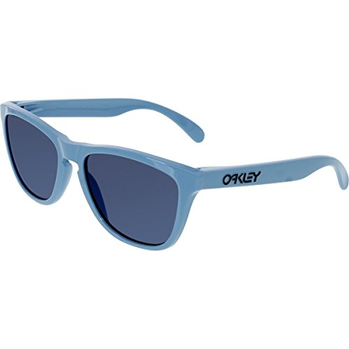 Oakley Mens Frogskins Sunglasses, Heritage Blue/Ice Iridium, One ()