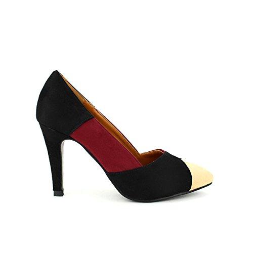 Fashion Multicolore Femme Cendriyon Chaussures Pato Escarpin Multicolors Pati n4qPp