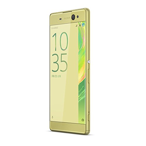 Sony F3211 Smartphone lime goud Xperia XA Ultra LTE 16GB, 15,24 cm (6 inch), Android 6.0 Marshmallow