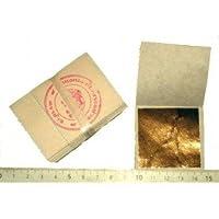 Lote hoja de oro de 24 quilates en
