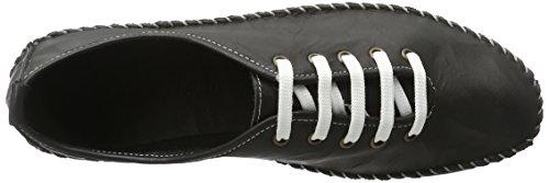 Andrea Conti 0027400 Damen Sneakers Schwarz (Schwarz)