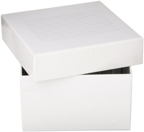 Globe Scientific 3094-1 Cardboard Storage Box for up to 2