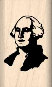 Stamps by Impression ST 3087 George Washington Rubber Stamp ()