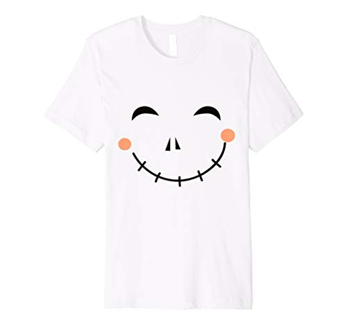 Last Minute Happy Scarecrow Halloween Costume Premium T-Shirt -