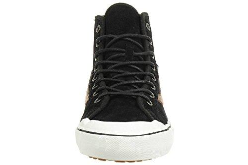 Busjes Zwart Bal Hi Sf (zwart) Mens Skate Schoenen Zwart Flanel