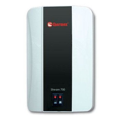 Reproductor de 700 Thermex Tamaño pequeño calentador de agua con grifo/grifo para ducha,