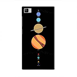 Cover It Up - School Project Planets Mi3 Hard Case
