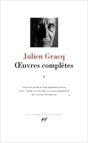En ligne téléchargement gratuit Gracq : Oeuvres complètes, tome 2 epub, pdf