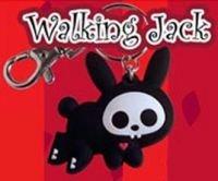 Skelanimals Hopping Jack the Rabbit - Glow in the Dark Key Chain Anime Key Chains ()