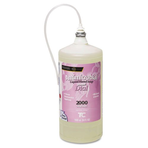 TEC4015421 - One Shot Antibacterial Enriched Lotion Soap Refill, Floral, 1600ml