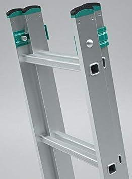 Echelle coulissante /à main aluminium 2 plans