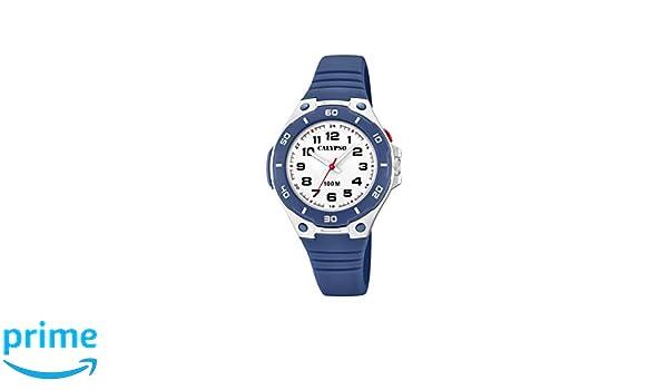 Calypso Watches Reloj Analógico para Unisex Adultos de Cuarzo con Correa en Plástico K5758/2: Amazon.es: Relojes