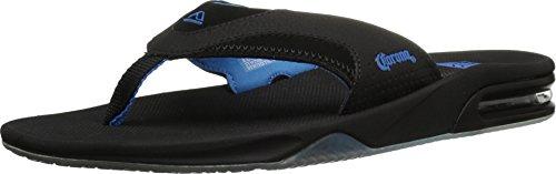 Reef - Mens Fanning X Corona Sandals, Size: 8 D(M) US, Color: Black