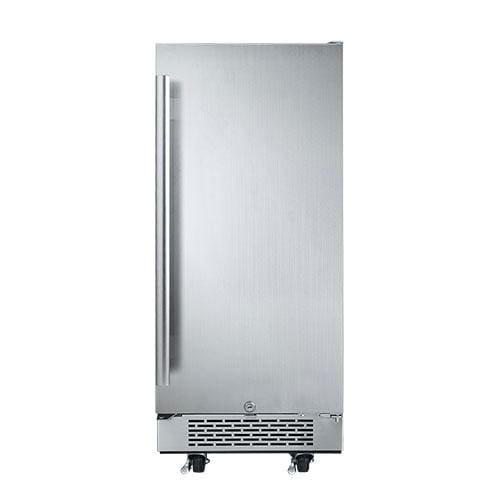 Avallon AFR151SSODRH 3.3 Cu Ft 15″ Outdoor Built-in Refrigerator – Right Hinge