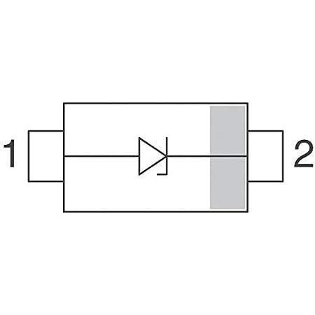 Pack of 100 SMF22A-E3-08 TVS DIODE 22V 35.5V DO219AB