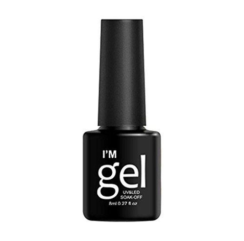 Nail Polish,8ml Nail Art Top Coats OrganizerSolid State for