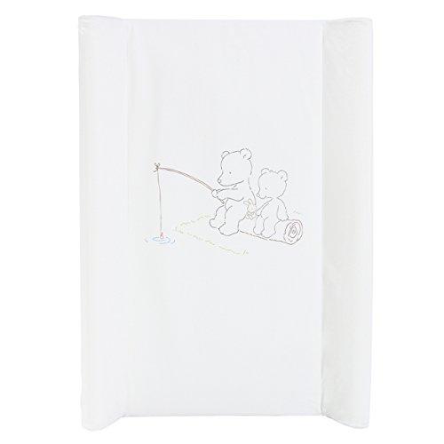 Wickeltischauflage Wickelbrett Wickelplatte Wickelauflage Babybett Auflage 70x50cm Design 17