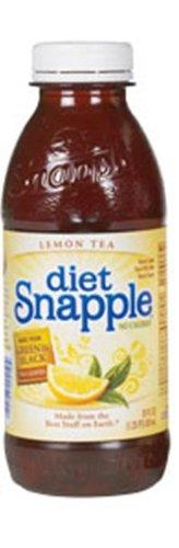 Snapple Diet Lemon Tea, 20-Ounce Bottles (Pack of 24) by Snapple
