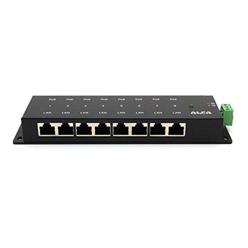 2 opinioni per Alfa 8 ports Passive PoE Injector