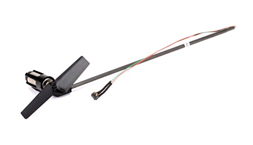Blade Tail Boom Assembly w/Tail Motor/Rotor/Mount: nCP (Tail Motor Assembly)