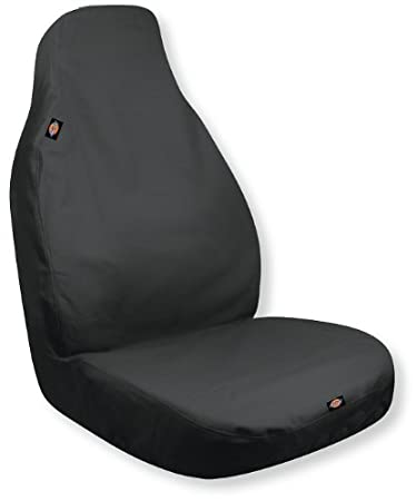 Dickies 3001109 Heavy Duty Water-Resistant Trader Seat Cover Black