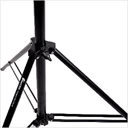 CowboyStudio Set of Two 12ft Heavy Duty Spring Cushioned Photo/Video Light Stands