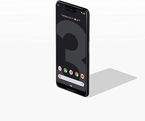 "Google Pixel 3 XL (128GB, 4GB RAM) 6.3"" QHD+, IP68 Water Resistant, Snapdragon 845 - GSM/CDMA Factory Unlocked (AT&T/T-Mobile/Verizon/Sprint) (Just Black)"