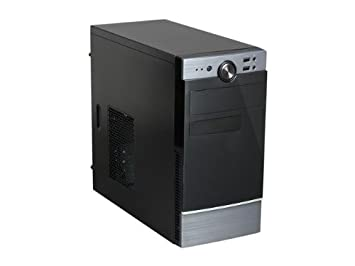 Amazon.com: Rosewill Dos ventiladores microATX Mini Tower ...