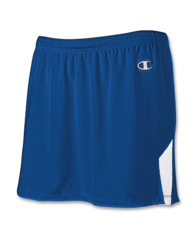 Champion Double Dry® Stretch Womens Lacrosse/Field Hockey Skirt # L536 Athletic Royal/White roy51vN