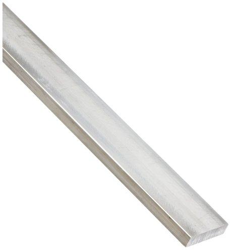 2024 Aluminum Rectangular Bar, Unpolished (Mill) Finish, Cold Finished, T4 Temper, AMS QQ-A-225/6, 1/4
