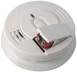 Kidde I12060 Smoke Alarm Spring Load Hush