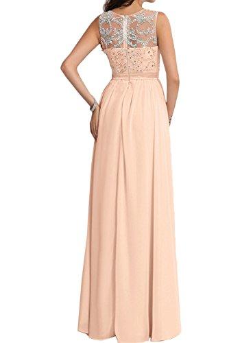 A Chiffon Rundkragen Linie Damen Jaegergruen Ballkleid Promkleid Abendkleider Ivydressing Steine In7qRxwOW