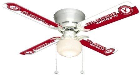 Ceiling Fan Designers 7999-ALA New NCAA ALABAMA CRIMSON TIDE 42 in. Ceiling Fan