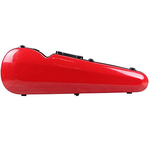 String House SG301R Red Fiberglass Violin Case 4/4 Full Size Fiberglass House