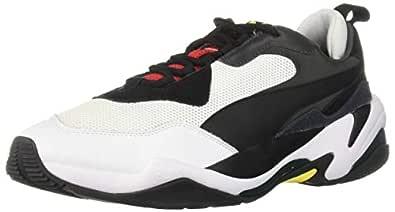PUMA Men's Thunder Sneaker Black-high Risk, 7 M US