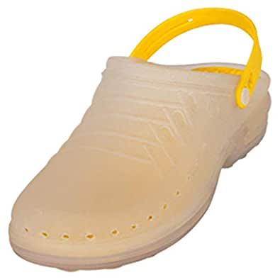 Wock Yellow Flat Sandal For Unisex