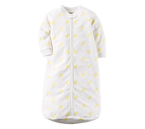 Carter's Little Yellow Ducky Sleepsuit - 0-9 Months (Carters Bedding)