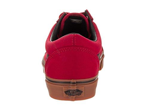 De Ante Unisex Zapatillas Rosso Vans Nero Deporte 0w4Ong