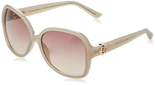 GUESS Mujer con textura Oversized ovalada gafas de sol 588791ab1252
