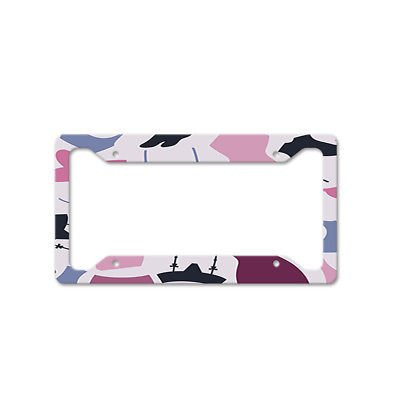 Bras And Bodysuits Auto Car License Plate Frame Tag Holder 4 Hole