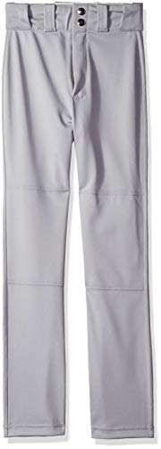- Wilson Youth Pro T3 Relaxed Fit Baseball Pant, Grey, Medium