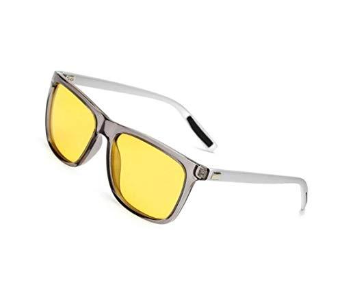 Lunettes polarisées lunettes Lunettes Yellow soleil de soleil hommes pêche pour voyager de Pour de pour Kangqi protectrices nocturne des vision UV400 conduite unisexes de lunettes Cxqn7qA