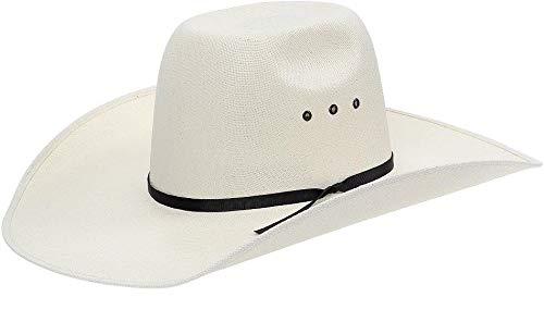 Chapéu Country Copa Alta Com Fita Preta Texas Diamond 21112
